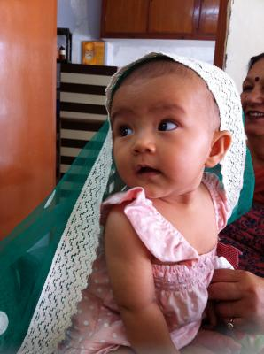 宝贝在印度