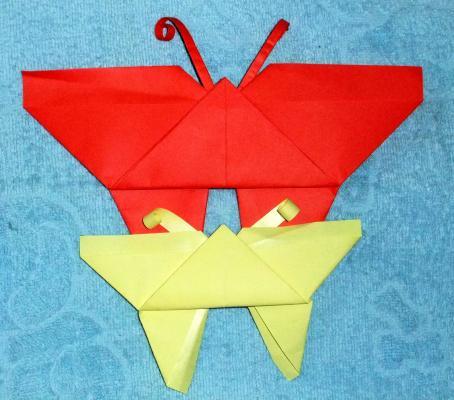 手工折纸——蝴蝶