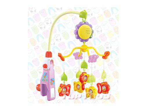 有了这些色彩鲜艳,音乐动听的小动物音乐床铃,可爱的小宝宝一定会露出