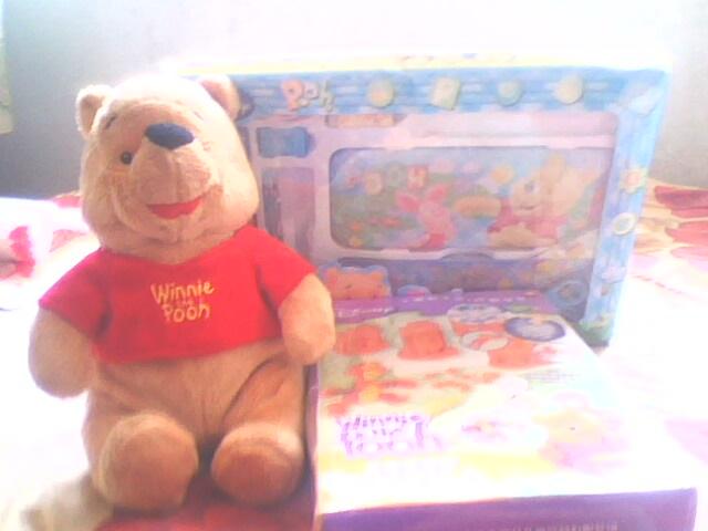 维尼/维尼秒杀的维尼小熊还有维尼文具,维尼彩泥,蛮实用的哈