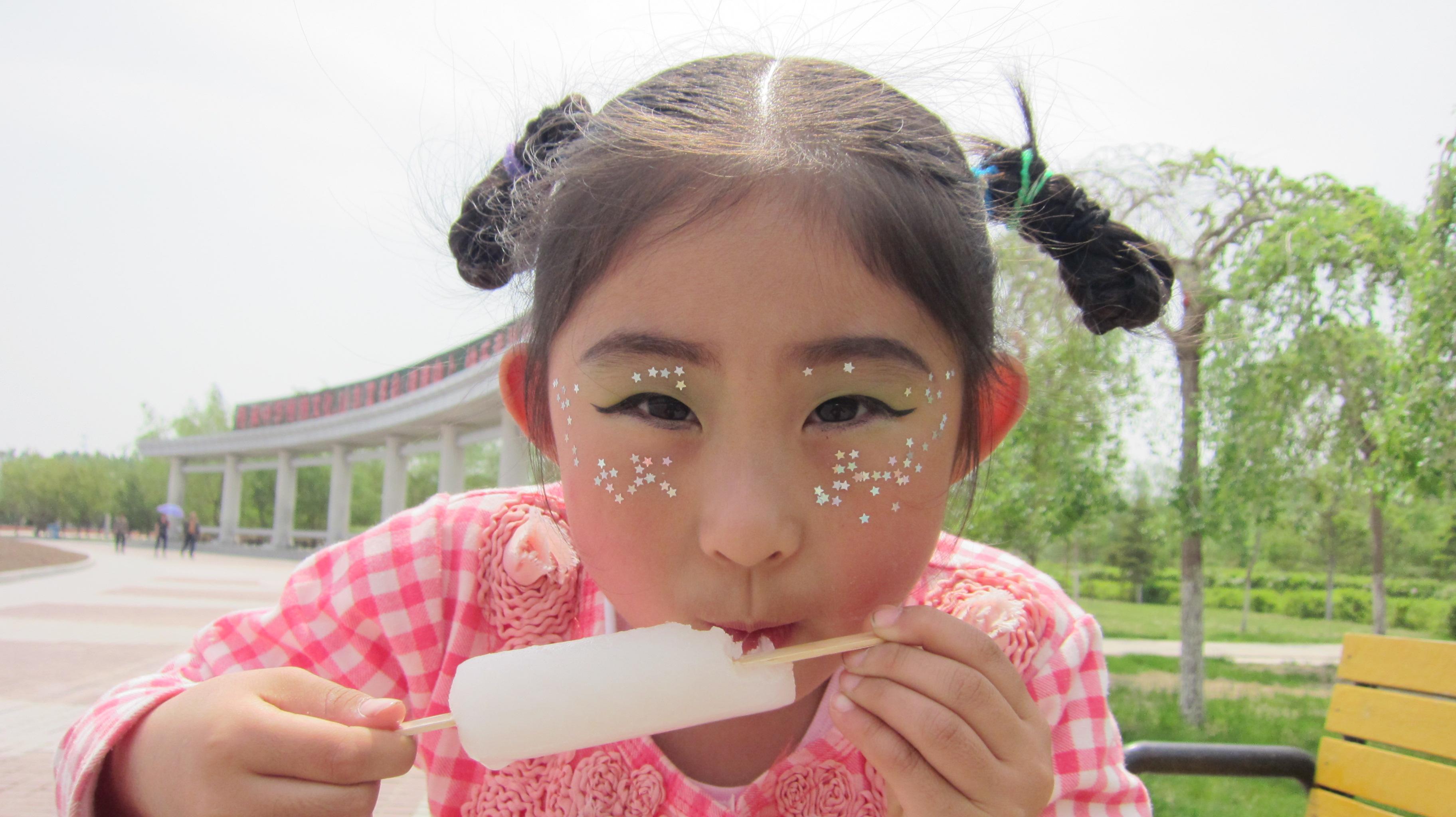 小艾六一儿童节化妆照