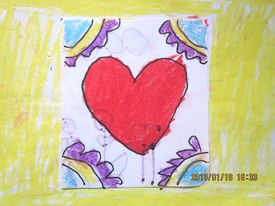 思思学前班第一个学期的画画作品展示